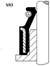 Tetningsring, ventilstamme, Innsugningsmanifold