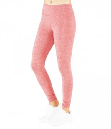Essential Legging (Färg: Röd/blå/melange, Storlek: M)