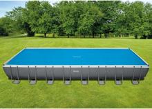 Intex Soldrevet bassengtrekk rektangulært 975x488 cm