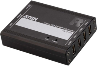 4-Port USB 2.0 CAT 5 Extender (up to100m)