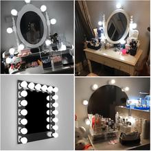 Hollywood Ljuskit Expert för Sminkspeglar 10 lampor USB