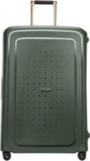 Samsonite S'Cure DLX koffert, 4 hjul, 81 cm, Mørk grønn