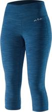 NRS HydroSkin 0.5 Capris Dam moroccan blue XS 2020 Paddelbyxor & -shorts