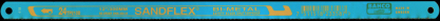 Bågfilsblad Bimetall 3906 Bahco