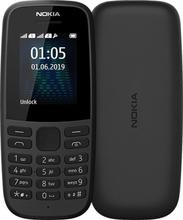 NOKIA 105 DS (2019) BLACK Mobiltelefon