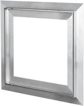 Duka inspektionslucka för gipsvägg, 600x600, aluminium