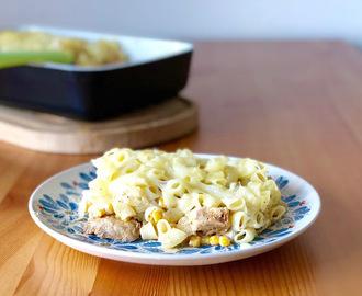 recipe: zapiekanka makaronowa z mięsem mielonym i pieczarkami [10]