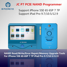 PHONEFIX JC Pro1000S JC P7 PCIE NAND Programmer SN Read Write Repair Tool For iPhone 7 7P 6S 6SP iPad pro Memory Upgrade