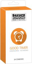 Secura: Good Timer, Kondomer, 24-pack