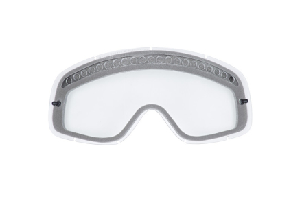 Oakley MX O Frame Accessory Lenses dual-vented clear 2018 Ajolasitarvikkeet