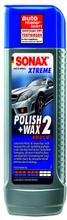 Sonax XTREME Polish+Wax 2 Hybrid NPT 250 Milliliter Burk