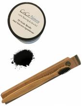 Coco Natura Natural Coconut Charcoal & Bamboo Toothbrush 2 stk