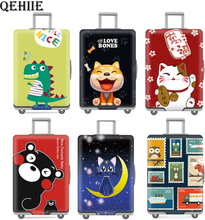 Luggage cover Elastic travel trolley suitcase protective Baggage cover Cartoon suitcase cover Child Cartoon Travel Accessories