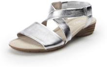 Sandaler i 100% skinn från Gabor silver