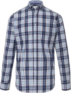 Skjorta button down-krage från Brax Feel Good blå