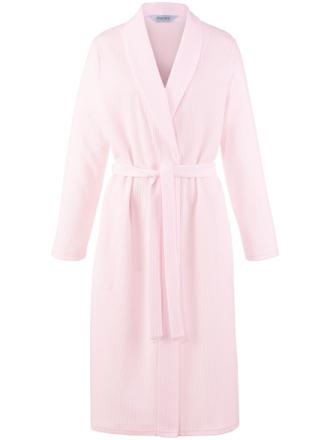 Morgonrock lång ärm från Charmor rosa