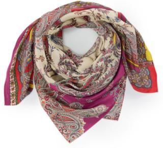 Scarf i äkta silke från Laura Biagiotti Donna mångfärgad