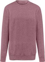 Rundhalsad tröja i 100% kashmir i Premium-kvalitet från Peter Hahn Cashmere lila