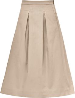 Plisserad kjol från Peter Hahn beige