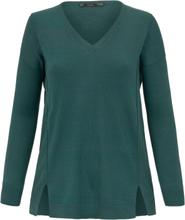 V-ringad tröja från Emilia Lay grön
