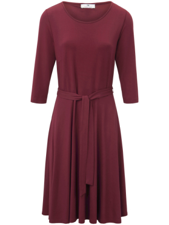 Jerseyklänning från Peter Hahn röd