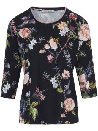 Bluse rund hals og 3/4-lange ærmer Fra Betty Barclay multicolor