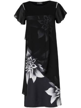 Klänning från Doris Streich mångfärgad
