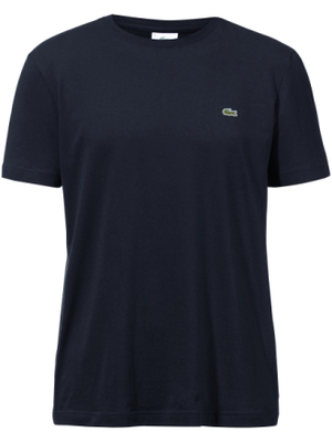 Round neck top short sleeves Lacoste blue