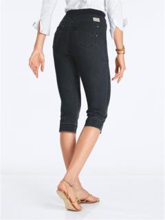 """""""Comfort Plus""""-capribyxa, modell CAROLINA från Raphaela by Brax svart"""