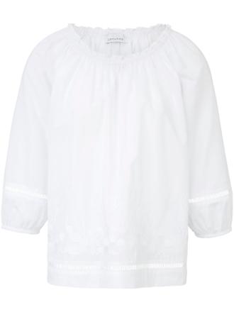 Blus 3/4-ärm från Just White vit