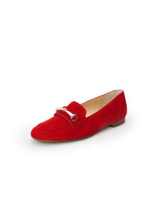 Loafers för kvinnor från Paul Green röd
