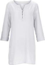 Tunika 3/4-ärm i rent linne från Peter Hahn vit