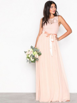 NLY Eve Show Me Love Gown Maxiklänningar Ljus Rosa