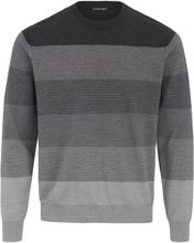 Rundhalsad tröja från Louis Sayn grå