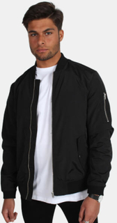 Jack & Jones Bomber Jakke Camp Black