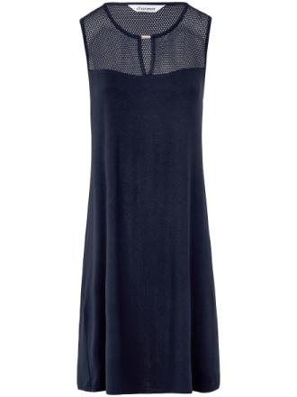 Ärmlös klänning från Charmor blå