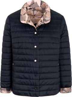 Quiltet jakke Fra Basler multicolor