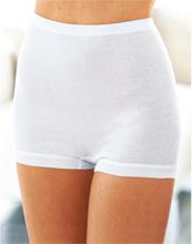 Hög trosa korta ben i 2-pack från Mey vit