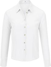 Skjorte 100% silke Fra Peter Hahn hvid
