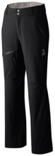 Mountain Hardwear Womens Stretch Ozonic Pant, Black