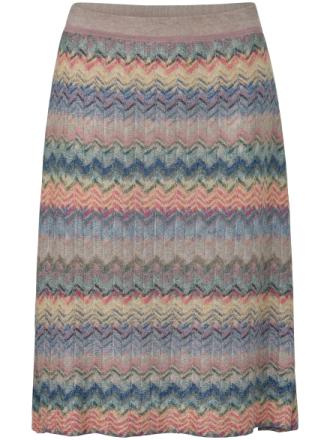 Stickad kjol från Schneiders Salzburg mångfärgad