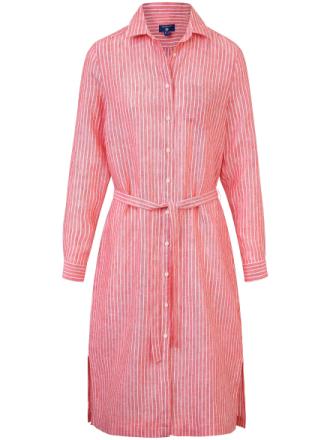 Klänning i rent linne från GANT mångfärgad