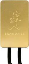 Solstickan - Brandfilt 120x120 cm Guld