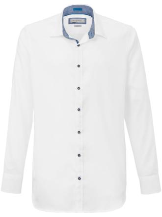 Skjorta button down-krage från Bugatti vit