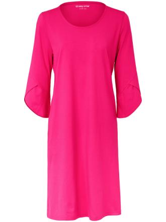Trikåklänning 3/4-ärm från Green Cotton mångfärgad