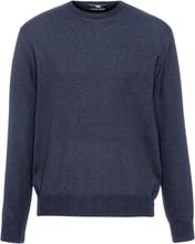 Rundhalsad tröja i 100% ren ny ull, modell Clement från Peter Hahn röd
