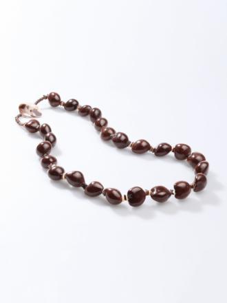 Halsband från Peter Hahn brun