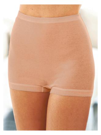 Shorts i 2-pak Fra Mey beige - Peter Hahn