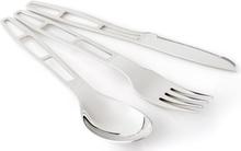 GSI Glacier Stainless Cutlery 3 Pieces 2020 Ruokailuvälineet