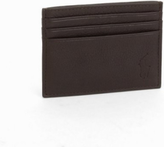 Polo Ralph Lauren Multi Card Case Plånböcker Brown